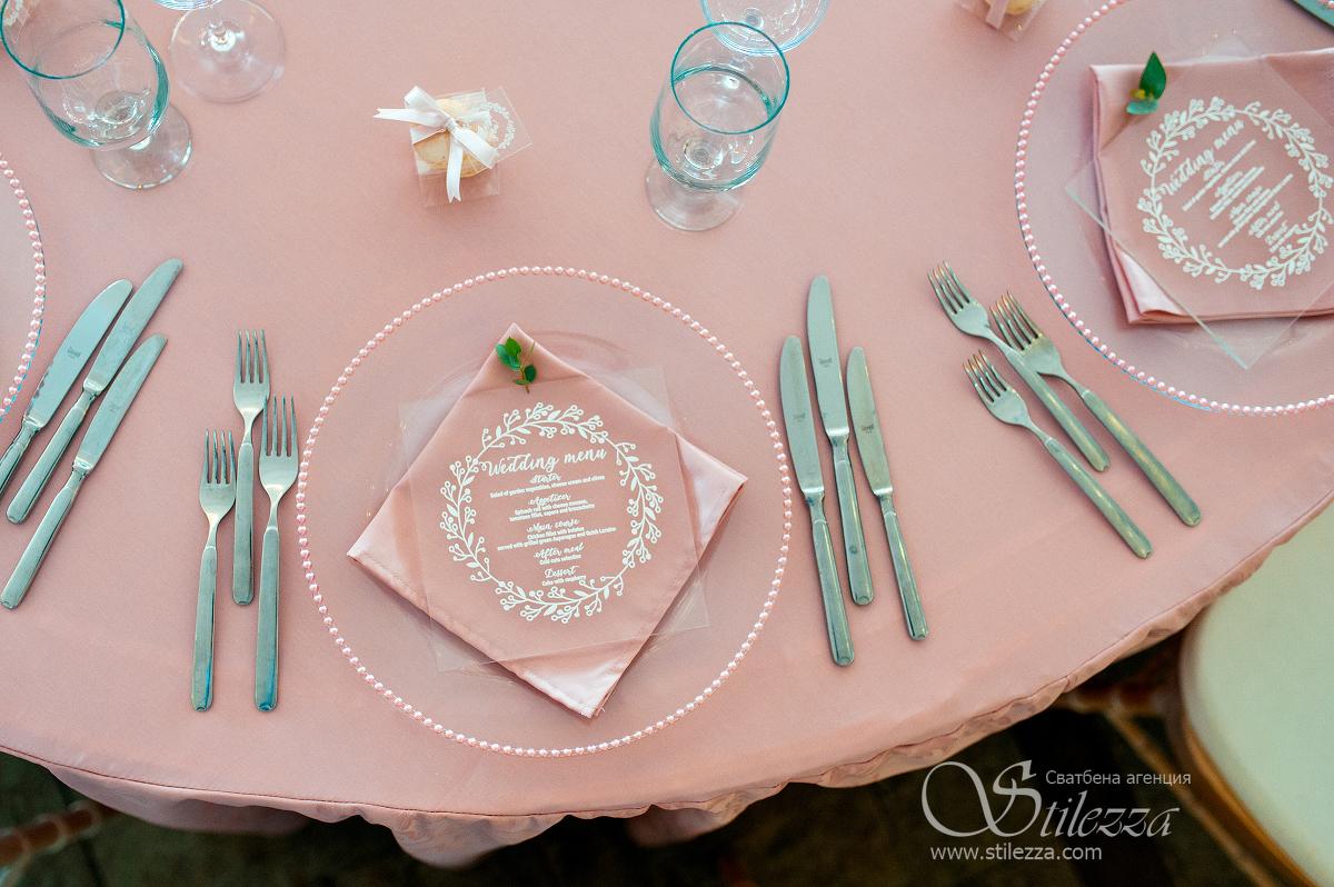 Romantic wedding decoration